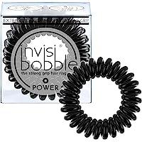 Invisibobble Power Elastico 3 Pz, Black