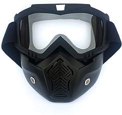 Giplar Airsoft Maske Tactical Maske Weiche Kugel Dart Schutzspiegel Gesichtsmaske für Nerf, CS usw
