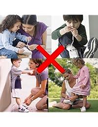No atar los cordones de los zapatos para niños y adultos - cordones elástica plana reemplazo cordón para el Athletic running zapatilla botas zapatos zapatos casuales de la Junta