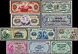 *** 5Pf,10Pf,1/2,1,2,5,10,20,50,100 Deutsche Mark,Geldscheine 1948 - 2 Sätze- P01 - P17 - Reproduktion ***