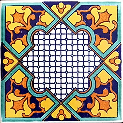 PIASTRELLA IN CERAMICA VIETRESE DECORATE 10X10XH1
