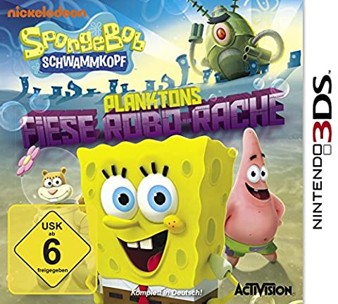 SpongeBob Schwammkopf - Planktons fiese Robobo-Rache - [Nintendo 3DS]