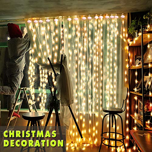 LED-Lichtervorhang Gesamtlänge