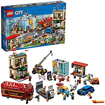 lego 60097 city jeu de construction le centre ville. Black Bedroom Furniture Sets. Home Design Ideas