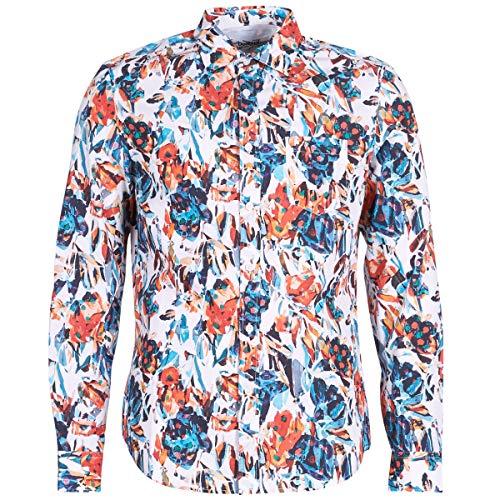 Desigual Asher Hemden Herren Multifarben - XXL - Langärmelige Hemden