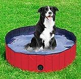 BLUE CHARM Piscina per animali domestici/piscina per cani/piscina pieghevole/bacino per vasca per gatti per cani/ispessimento cane in PVC europeo ispessimento/piscina per bambini, piscina di palline