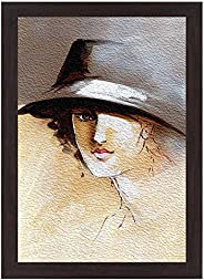 Wens 'Women Elegance' Wall Painting (MDF, 35.5 cm x 50.8 cm x 1.2 cm, WS