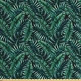 ABAKUHAUS Palmblatt Gewebe als Meterware, Frischer