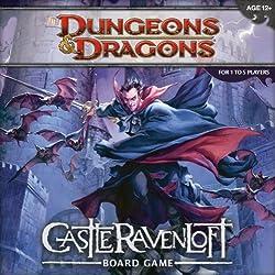 D&D TABLERO: CASTLE OF RAVENLOFT juego en ingl