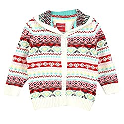 Lilliput Baby Girls Cardigans (8907264021920_White_6-12 Months)