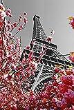 empireposter 737670 Eiffelturm Paris Frankreich Sehenswürdigkeiten Poster Druck, Papier, Bunt, 91.5 x 61 x 0.14 cm