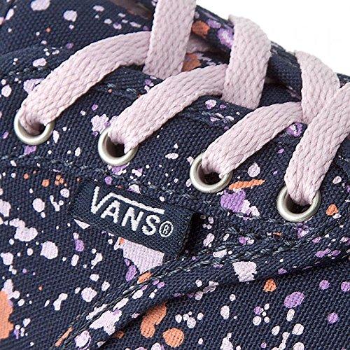 Vans Atwood Infant Slip On Sneakers-splatter Blu/Lilla Verspritzen / Marinenblau Lila