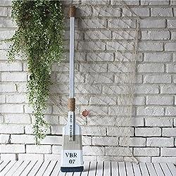 SU@DA madera de estilo mediterráneo remos 110 CM ya la sección de ventana de la barra del café ornamentos casa , 110 blue