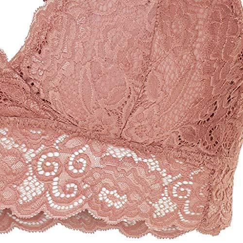 Styledress Frauen-Damenmode-Ausdehnungs-Blumenspitze höhlen heraus BH-Bralette-Alltags-BHS aus - 3