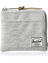 Herschel Johnny RFID Wallet Light Grey Crosshatch