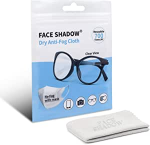 Face Shadow Anti Fog Tuch Für Brillen Trockenes Kamera