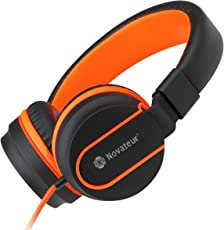 Novateur R11-001 On-Ear Headphones with Mic for all Smartphones