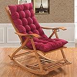 SJERC Inspektionskissen stützt die Stühle, Kissen, Bürostühle, Klappstuhl, Stuhlkissen, Sitzkissen (Ohne Stuhl) aggiornamento 48cm 125 * Stella Luna Lounge Chair Mats