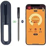 VENTDOUCE Termometro per Carne Senza Fili, termometro da Cucina Digitale Intelligente con griglia per Barbecue con Bluetooth