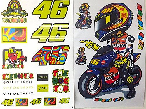 lot-de-2-planches-de-stickers-autocollants-valentino-rossi-vr46-the-doctor