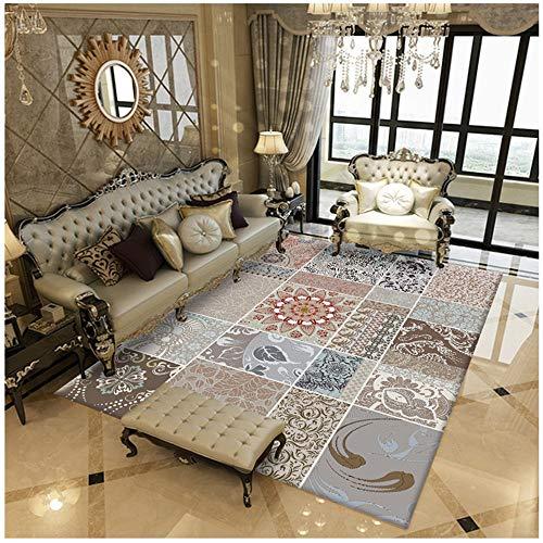 ohnzimmer, super weiches Schaffell Teppich Anti-Rutsch-Yoga-Matte Schlafzimmer Boden Sofa Nacht Teppiche Home Decor Rutschfeste Matte ()