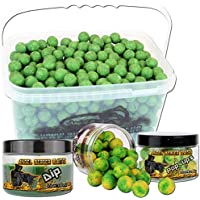 Angel Berger Session Set Boilies Pop Ups Dip, Conchiglia