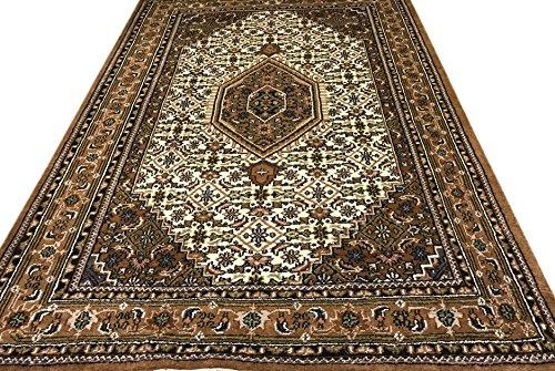 Orientteppich Bidjar 200X300 cm Handgeknüpft Beige Braun Teppich~ 100% Wolle - 200 Wolle Orientteppiche