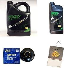 Ölwechselset 6L ORIGINAL MAZDA MOTORÖL ULTRA DPF 5W-30 und Ölfilter