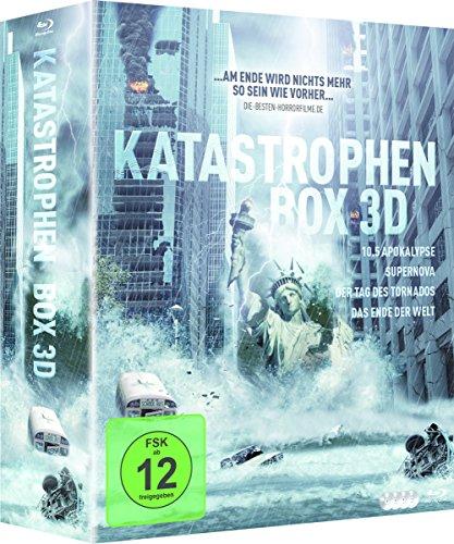 Katastrophen Box 3D (4 Filme) (3D Blu-ray)