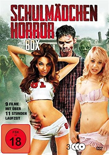 Schulmädchen Horror - 9 Filme-Box-Edition (3 DVDs)