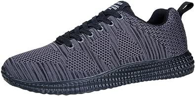 Bluestercool Uomo Scarpe Running Sneakers Sneakers da Uomo con Sneakers Respirabili Casual Leggero Fashion Scarpe da Corsa