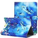 KATUMO Coque Housse Protection Etui Compatible avec Tablette 10,1 Pouces, Pochette Cuir pour Tablette Acer Iconia Tab A3-A40 10' Tablette Teclast X10 10.1 Pouces Flip Case Cover