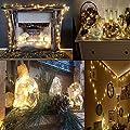 Salcar USB Bunte LED Lichterkette wasserdicht 10 Meter/33Ft 100 Dioden Innen Außen Micro Kupfer Draht für Weihnachten Deko, Hochzeit Party Festen, Fest Deko
