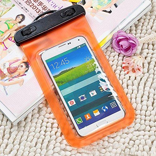 Sac étanche Housse étui pour iPhone 4S/5S/6Samsung Téléphone portable pochette Bain