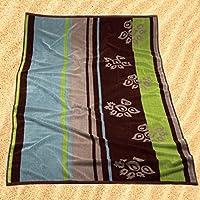 Burrito Blanco Toalla de Playa/Toalla de Piscina 175 Grande para Hombre o Mujer Algodón