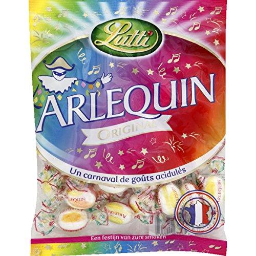 lutti Bonbon acidulées Arlequin original - ( Prix Unitaire ) - Envoi Rapide Et Soignée