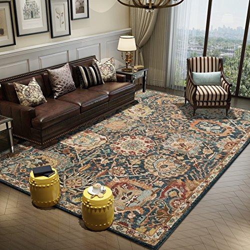 BAGEHUA personalizzata tappeti Turchi Soggiorno Camera da letto Biancheria da letto coperta Tavolino Blanket, 160cmx 230cm, Bellevue 5