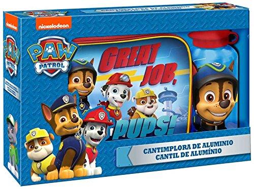 Patrulla canina - Set lunch bag con cantimplora (Kids Euroswan PW16236)