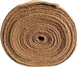 Unkrautschutzmatte aus Kokosfaser, 0,50 m x 5,00 m, ca. 7 mm dick, 2,50 m², (EUR 7,96/m²), Winterschutzmatte, Pflanzenschutzmatte, Kompostabdeckmatte,Kokosmatte
