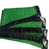 Schattierungsnetz Grüner Sunscreen UV-Beständiger Bauernhof-Landwirtschaft Shade Net 6 Pin (Farbe : Green, Größe : 2X4m)