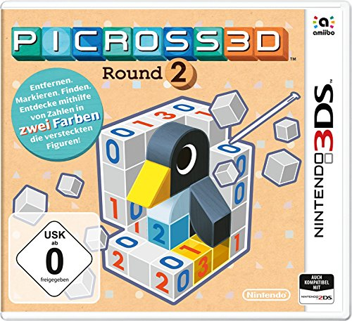 Picross 3D: Round 2 - [3DS]