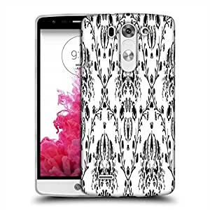Snoogg Grey Branched Pattern Designer Protective Phone Back Case Cover For LG G3 BEAT STYLUS
