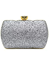 fbe4fdf425 Tooba Handicraft Party Wear Beautiful Box Clutch Bag Purse For Bridal