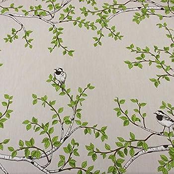 Skandinavische Stoffe stoff baumwolle meterware zugvögel schwarz weiß schweden