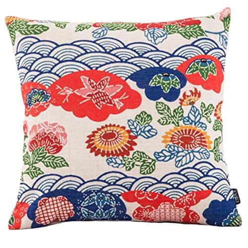 Black Temptation Style Japonais Coussin d'oreiller Confortable pour la Maison/Sushi Restaurant 45x45cm -A24