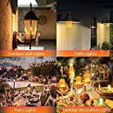 GlühbirneE27, Auledio FlackerlichtFeuereffe...Vergleich