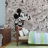 Disney Mickey Mouse - Forwall - Fototapete - Tapete - Fotomural - Mural Wandbild - (2883WM) - XXXL - 416cm x 254cm - VLI