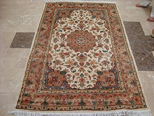 exclusive-ivory-medallion-taj-rectangle-area-rug-wool-silk-hand-knotted-carpet-6-x-4