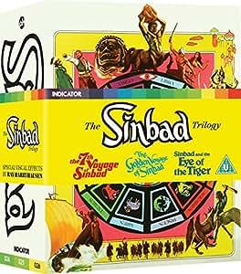 The Sinbad Trilogy (Dual Format Limited Edition) [Blu-ray] [Region Free]