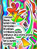 Lernen Kunst Malbuch Abstrakte Formen Expressionismus Mit biomorphen Für Erwachsene und Kinder Verwenden Sie, um zu verzieren, Geschenk Als Grußkarten, Oder als Andenken Von Künstler Grace Divine